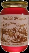 Pot de miel de bruyère de 500gr